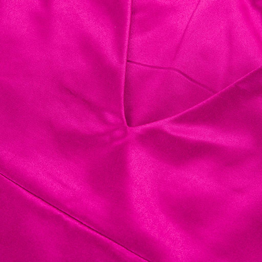 Satin V-Neck Maxi Dress for Women