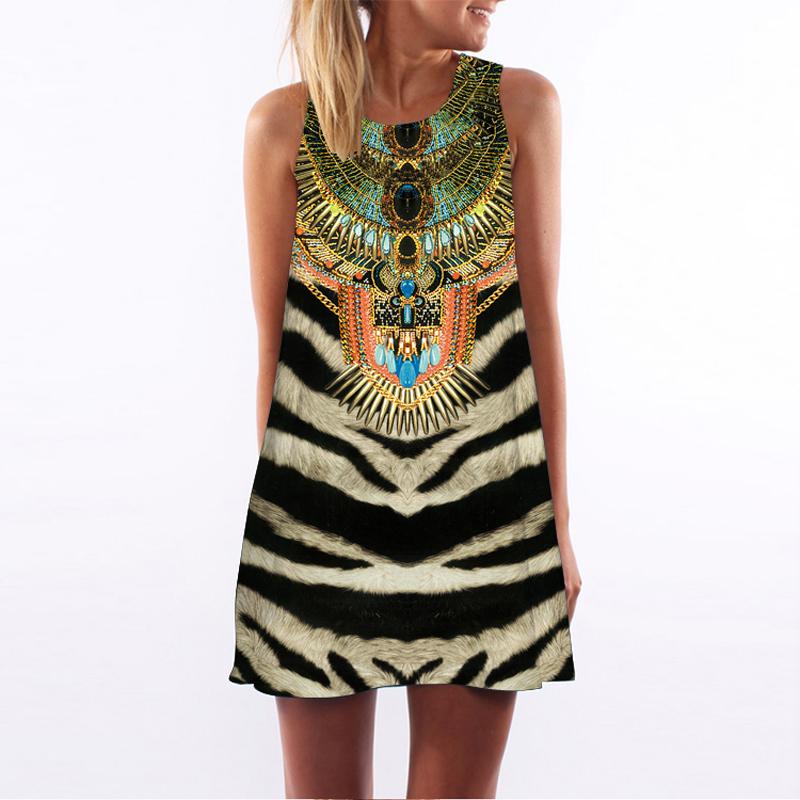 Lovely Summer Casual Sleeveless Women's Dress