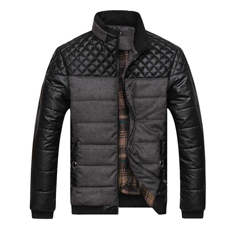 Trendy Winter Casual Padded Men's Jacket