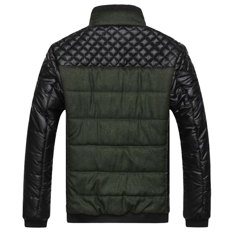 Trendy Winter Casual Padded Men's Jacket